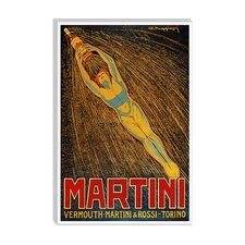 <strong>iCanvasArt</strong> Martini (Vermouth Martini and Rossi) Advertising Vintage Poster