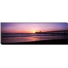 San Diego Pier, San Diego, California Canvas Wall Art
