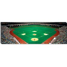 <strong>iCanvasArt</strong> Phillies vs Mets baseball game, Veterans Stadium, Philadelphia Pennsylvania Canvas Wall Art