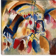 """Landscape with Church"" Canvas Wall Art by Wassily Kandinsky Prints"