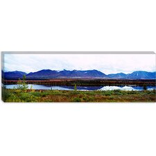 Mountain McKinley and Denali National Park, Alaska Canvas Wall Art