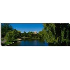 <strong>iCanvasArt</strong> Boston Public Garden, Massachusetts Canvas Wall Art