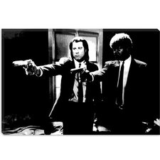 <strong>iCanvasArt</strong> Pulp Fiction Canvas Wall Art