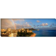 <strong>iCanvasArt</strong> Diamond Head, Honolulu Canvas Wall Art