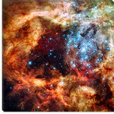 <strong>iCanvasArt</strong> R136 Star Cluster (Hubble Space Telescope) Canvas Wall Art