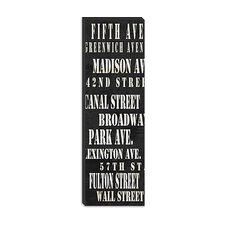 <strong>iCanvasArt</strong> NYC Streets from Willow Way Studios, Inc Collection Canvas Wall Art