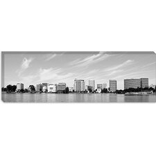 <strong>iCanvasArt</strong> Oakland Panoramic Skyline Cityscape Canvas Wall Art