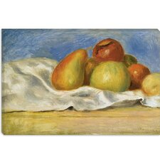 """Nature Morte Aux Pommes Et Poires 1890"" Canvas Wall Art by Pierre-Auguste Renoir"