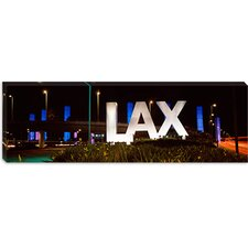 <strong>iCanvasArt</strong> LAX Airport, Los Angeles, California Canvas Wall Art