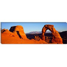 <strong>iCanvasArt</strong> Delicate Arch, Arches National Park, Utah Canvas Wall Art