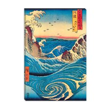"""Navaro Rapids, C.1855"" Canvas Wall Art by Ando Hiroshige"