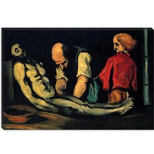 """Preparation for The Funeral (The Autopsy)"" Canvas Wall Art by Paul Cezanne"