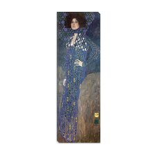 "<strong>iCanvasArt</strong> ""Portrait of Emilie Floge"" Canvas Wall Art by Gustav Klimt"