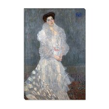 """Portrait of Hermine Gallia"" Canvas Wall Art by Gustav Klimt"