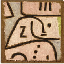 """Wi (in Memoriam)"" Canvas Wall Art by Paul Klee"