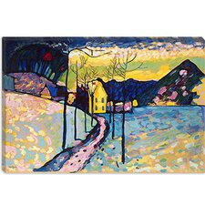 """Winter Landscape"" Canvas Wall Art by Wassily Kandinsky"