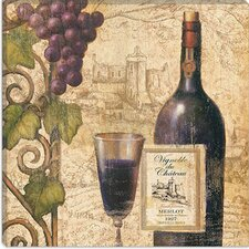 "<strong>iCanvasArt</strong> ""Wine Tasting III"" Canvas Wall Art by John Zaccheo"