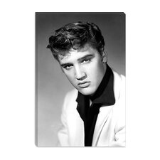 <strong>iCanvasArt</strong> Speers (Elvis Presley) Canvas Wall Art