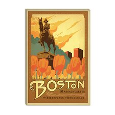 <strong>iCanvasArt</strong> The Birthplace of Democracy - Boston, Massachusetts Canvas Wall Art