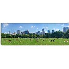 Sheep Meadow, Central Park, Manhattan, New York City, New York State Canvas Wall Art