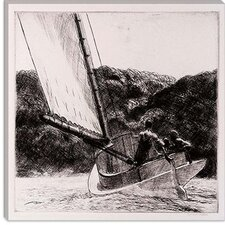 """The Cat Boat, 1922"" Canvas Wall Art by Edward Hopper"