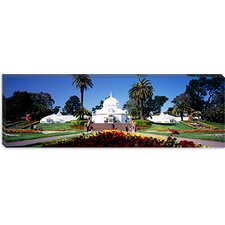 <strong>iCanvasArt</strong> Conservatory of Flowers, Golden Gate Park, San Francisco, California Canvas Wall Art