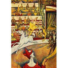 "<strong>iCanvasArt</strong> The Circus 1891"" Canvas Wall Art by Georges Seurat"