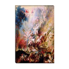 "<strong>iCanvasArt</strong> ""The Fall of the Damned"" Canvas Wall Art by Peter Paul Rubens"