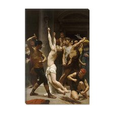 "<strong>iCanvasArt</strong> ""The Flagellation of Our Lord Jesus Christ"" Canvas Wall Art by William-Adolphe Bouguereau"