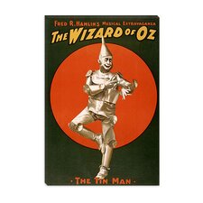 <strong>iCanvasArt</strong> The Wizard of Oz (The Tin Man) Advertising Vintage Poster
