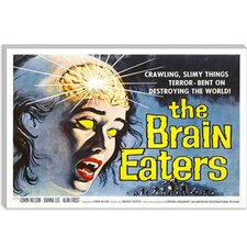 <strong>iCanvasArt</strong> The Brain Eaters Vintage Horror Movie Poster