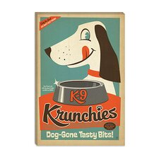 <strong>iCanvasArt</strong> VAF K9 Krunchies Canvas Wall Art