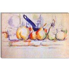 """Still Life with Saucepan, 1902"" Canvas Wall Art by Paul Cezanne"