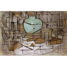 "<strong>iCanvasArt</strong> ""Still Life with Gingerpot ll, 1912"" Canvas Wall Art by Piet Mondrian"