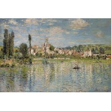 """Vetheuil in Summer 1880"" Canvas Wall Art by Claude Monet"