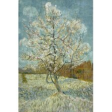 """The Pink Peach Tree l, 1888"" Canvas Wall Art by Vincent Van Gogh"