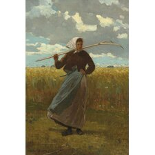 """The Return of ""The Gleaner 1867"" Canvas Wall Art by Winslow Homer"