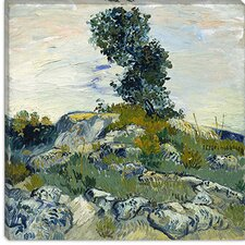 """The Rocks"" Canvas Wall Art by Vincent Van Gogh"