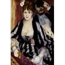 """The Theatre Box (La Loge)"" Canvas Wall Art by Pierre-Auguste Renoir"