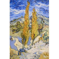 "<strong>iCanvasArt</strong> ""The Poplars at Saint-Remy"" Canvas Wall Art by Vincent Van Gogh"