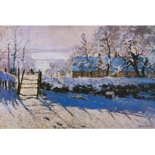 """The Magpie"" Canvas Wall Art by Claude Monet"
