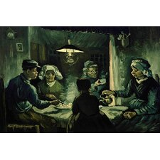 "<strong>iCanvasArt</strong> ""The Potato Eaters"" Canvas Wall Art by Vincent Van Gogh"