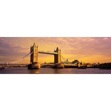 <strong>iCanvasArt</strong> Tower Bridge London England Canvas Wall Art