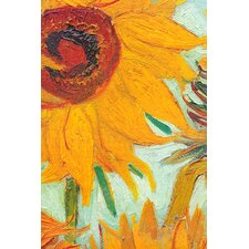 """Twelve Sunflowers (Detail)"" Canvas Wall Art by Vincent Van Gogh"