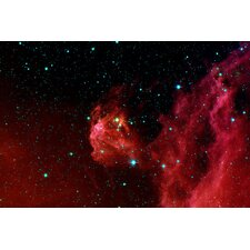 <strong>iCanvasArt</strong> Stars Hatching from Orions Head (Spitzer Space Station) Canvas Wall Art