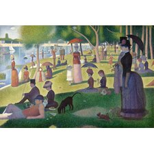 "<strong>iCanvasArt</strong> ""Sunday Afternoon on the Island of La Grande Jatte"" Canvas Wall Art by Georges Seurat"