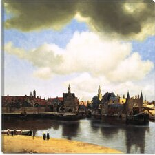 "<strong>iCanvasArt</strong> ""View of Delft, C.1660-61"" Canvas Wall Art by Johannes Vermeer"