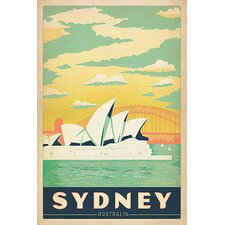 Sydney Opera House - Sydney, Australia Canvas Wall Art