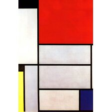 "<strong>iCanvasArt</strong> ""Tableau l, 1921"" Canvas Wall Art by Piet Mondrian"