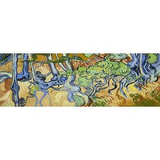 """Tree-Roots"" Panoramic Canvas Wall Art by Vincent Van Gogh"